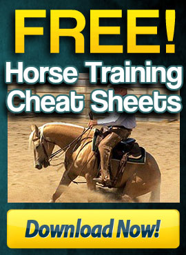 Free Horse Training Cheat Sheet